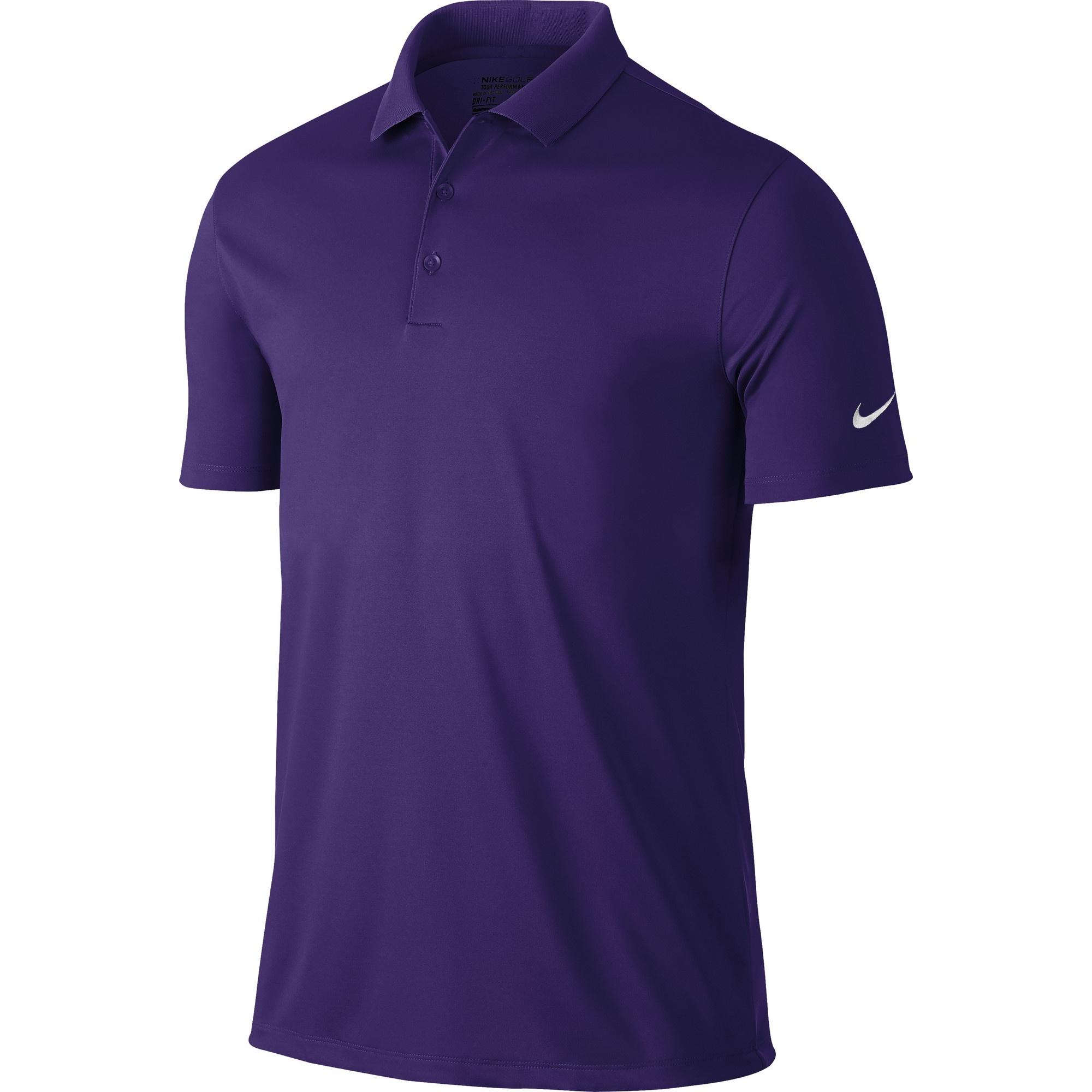 Nike mens victory short sleeve solid polo shirt ebay for Nike golf victory polo shirt