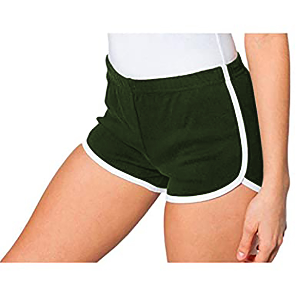 american apparel womens cotton casual sports shorts