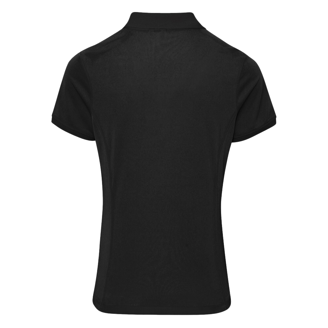 Plus size ladies polo shirts come in a variety of colors, and structured designs. Michael Kors polo shirts have a hot pink coloring, teamed with ruffling and a unique zip embellishment. If pink isn't your color, you can get the same shirt in a deep flattering black.