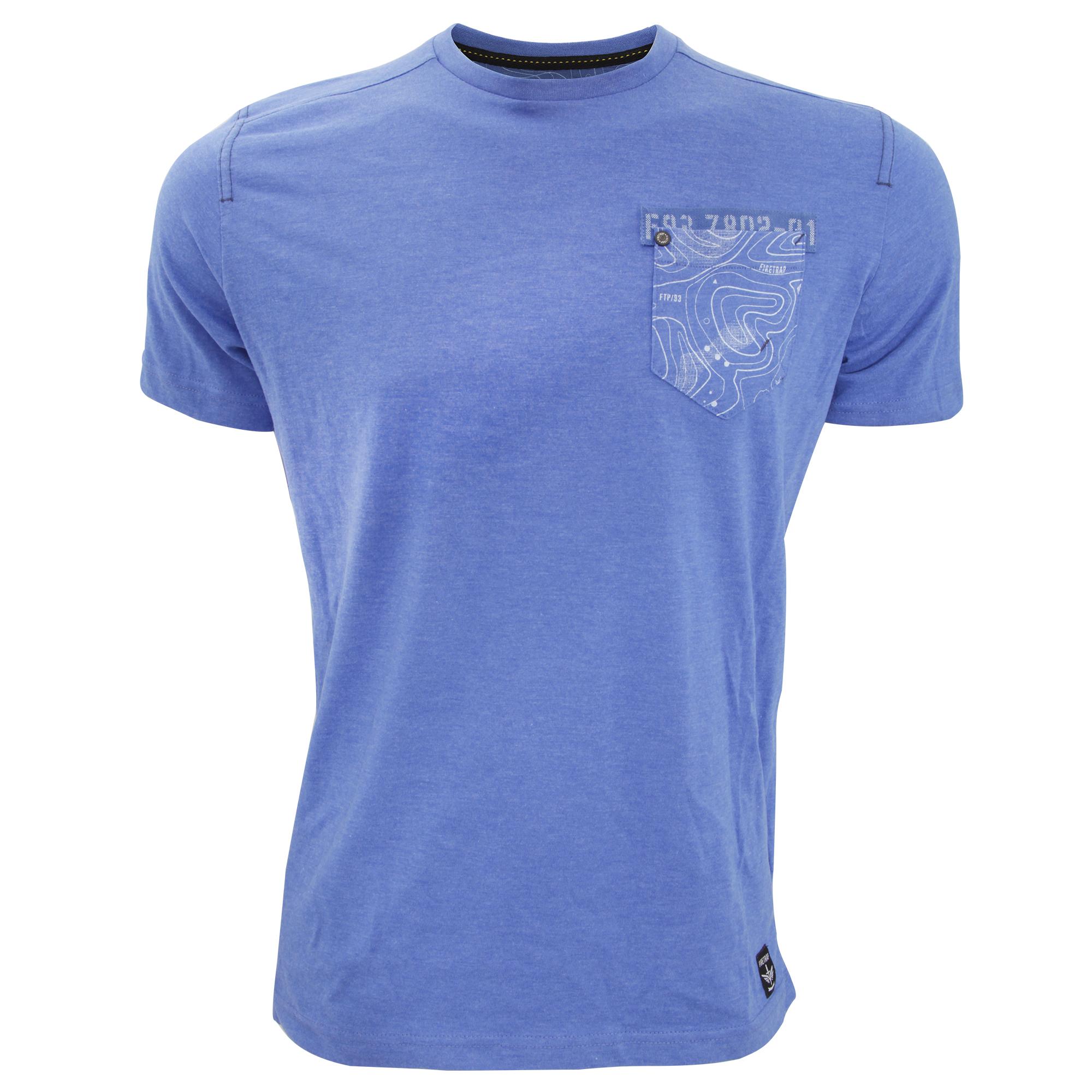 Firetrap Mens Tachbrook Short Sleeve T Shirt With Chest