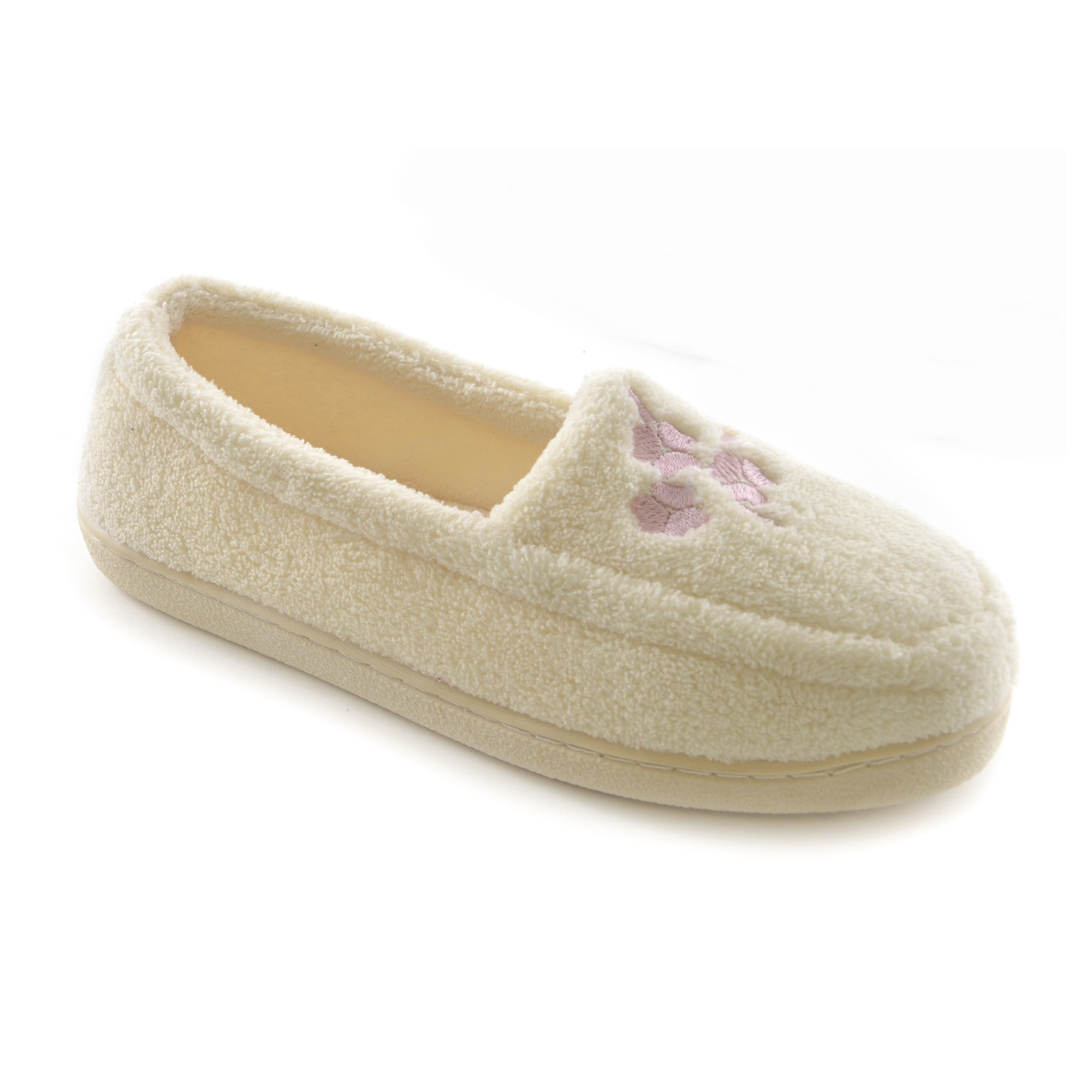 Slippers. Slip into fashionable comfort with a great pair of slippers. Whether you're in search of styles to wear around the house or to coordinate with your casual wardrobe, you'll love the look and feel of these shoes.