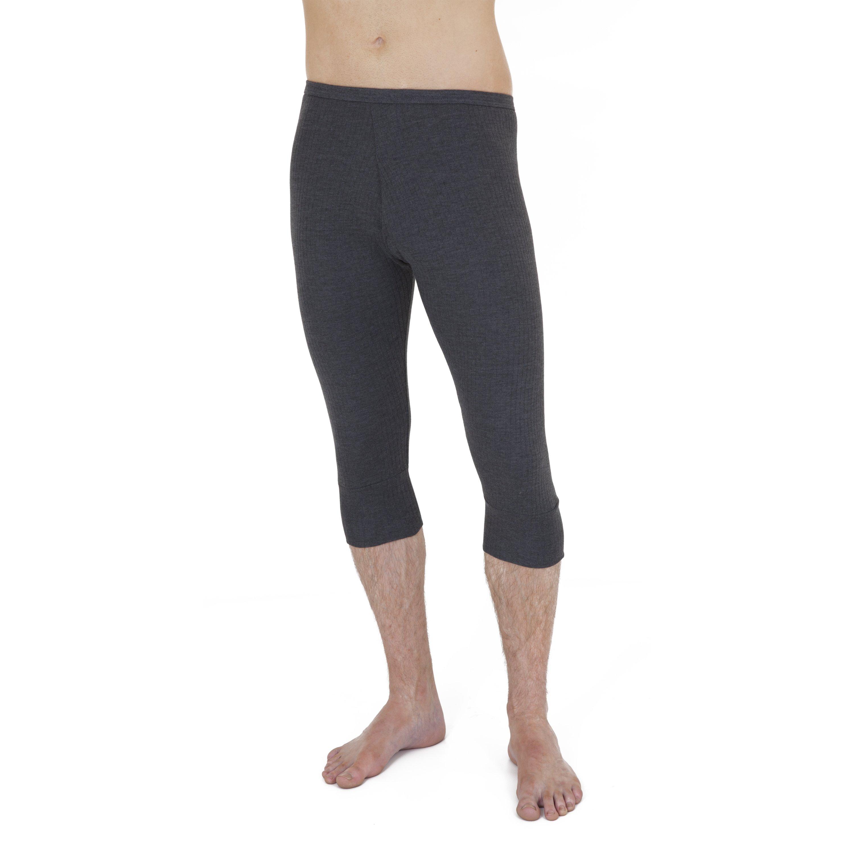 Mens thermal Underwear 3/4 length long Johns