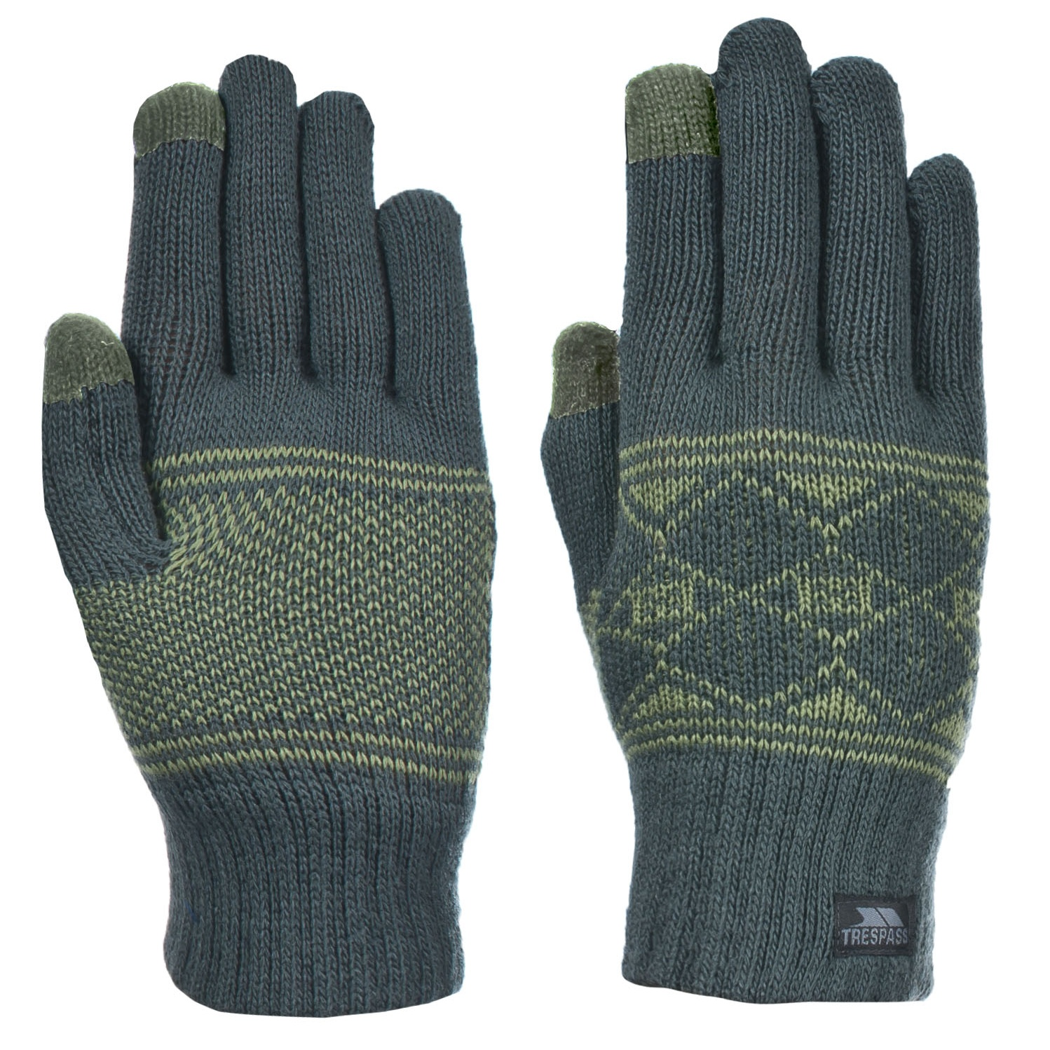 Nike Gloves Touch Screen: Trespass Mens Howard Touch Screen Compatible Knitted