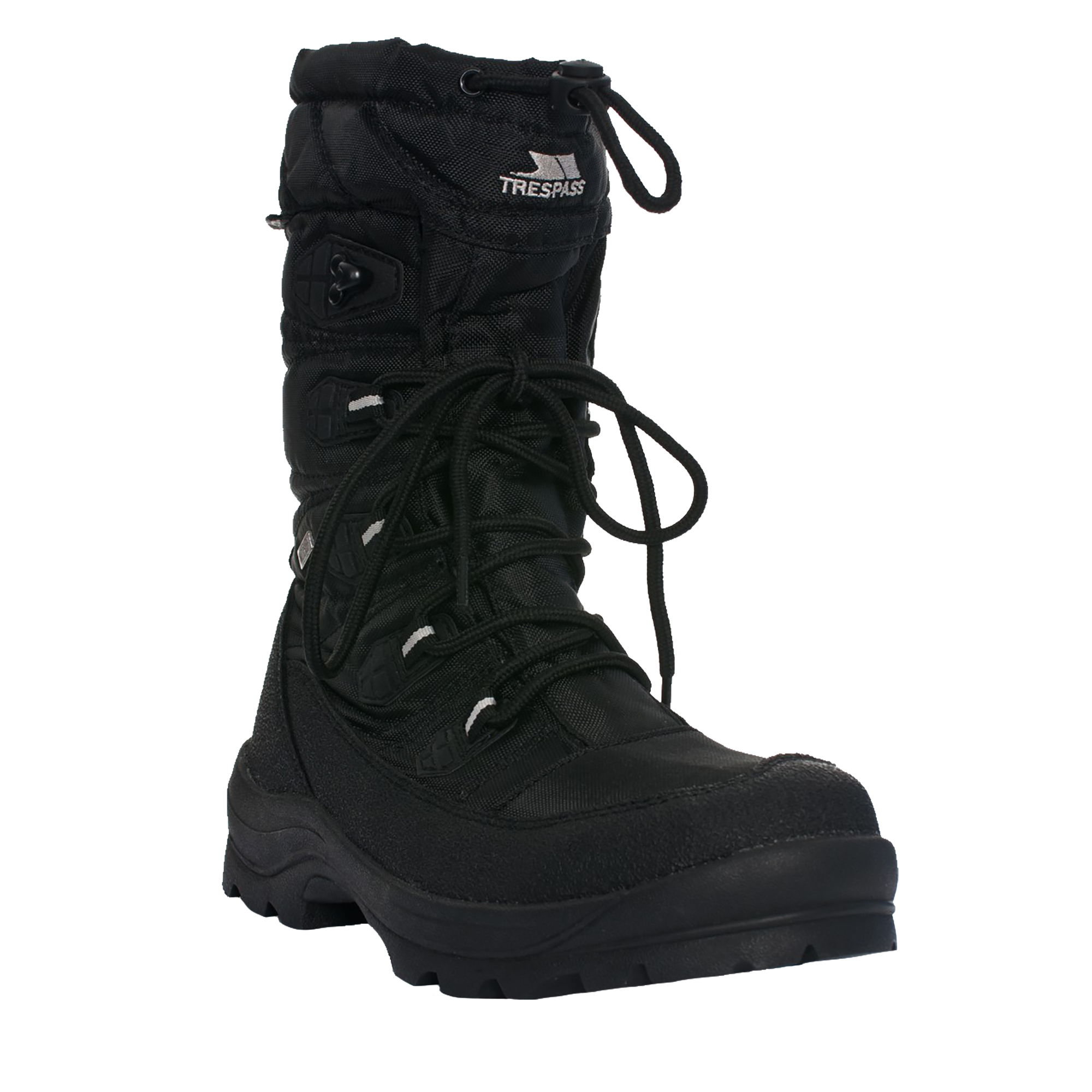 trespass mens yetti lace up snow boots ebay