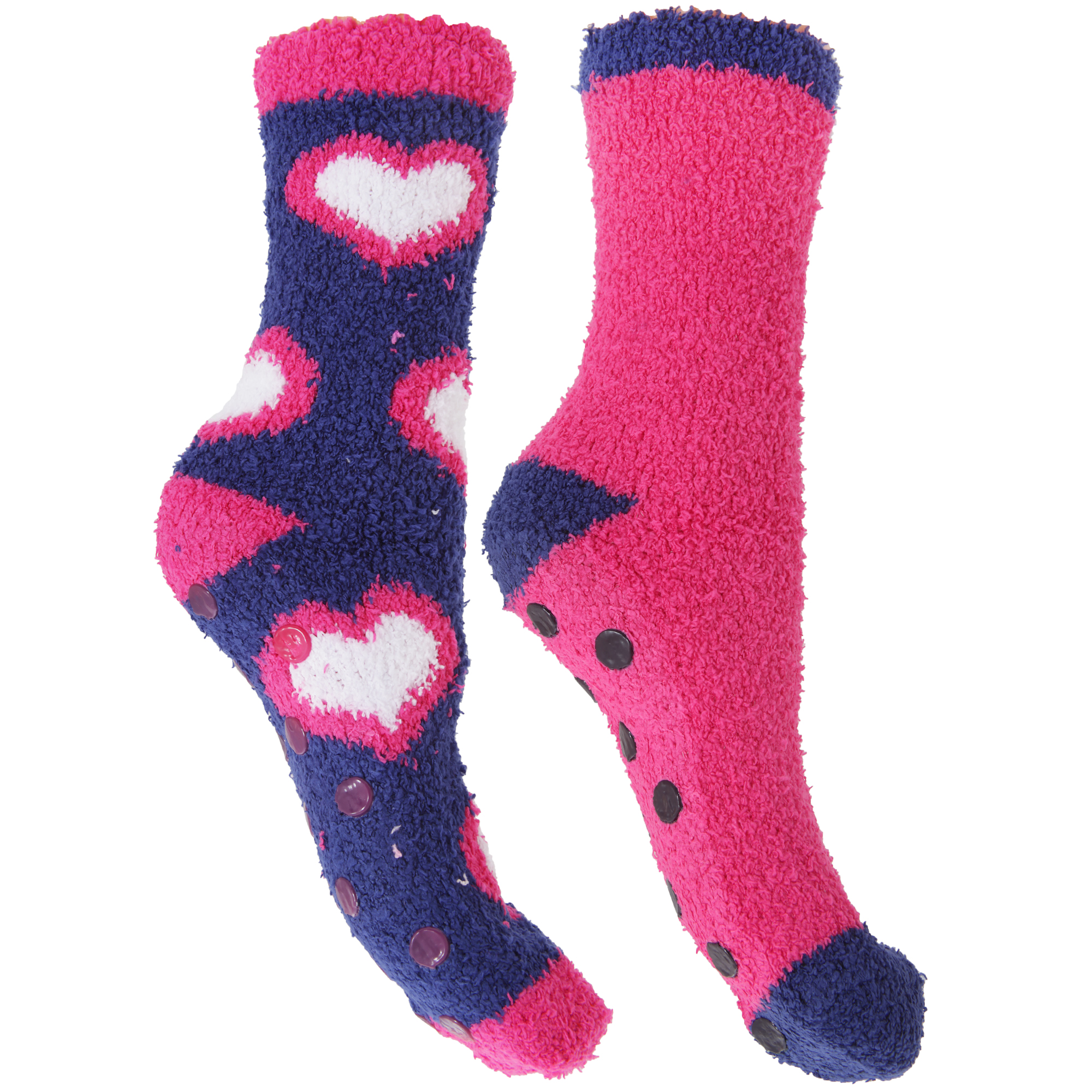 Womens Slipper Socks With Grips - 28 Images - 2 Pairs ...