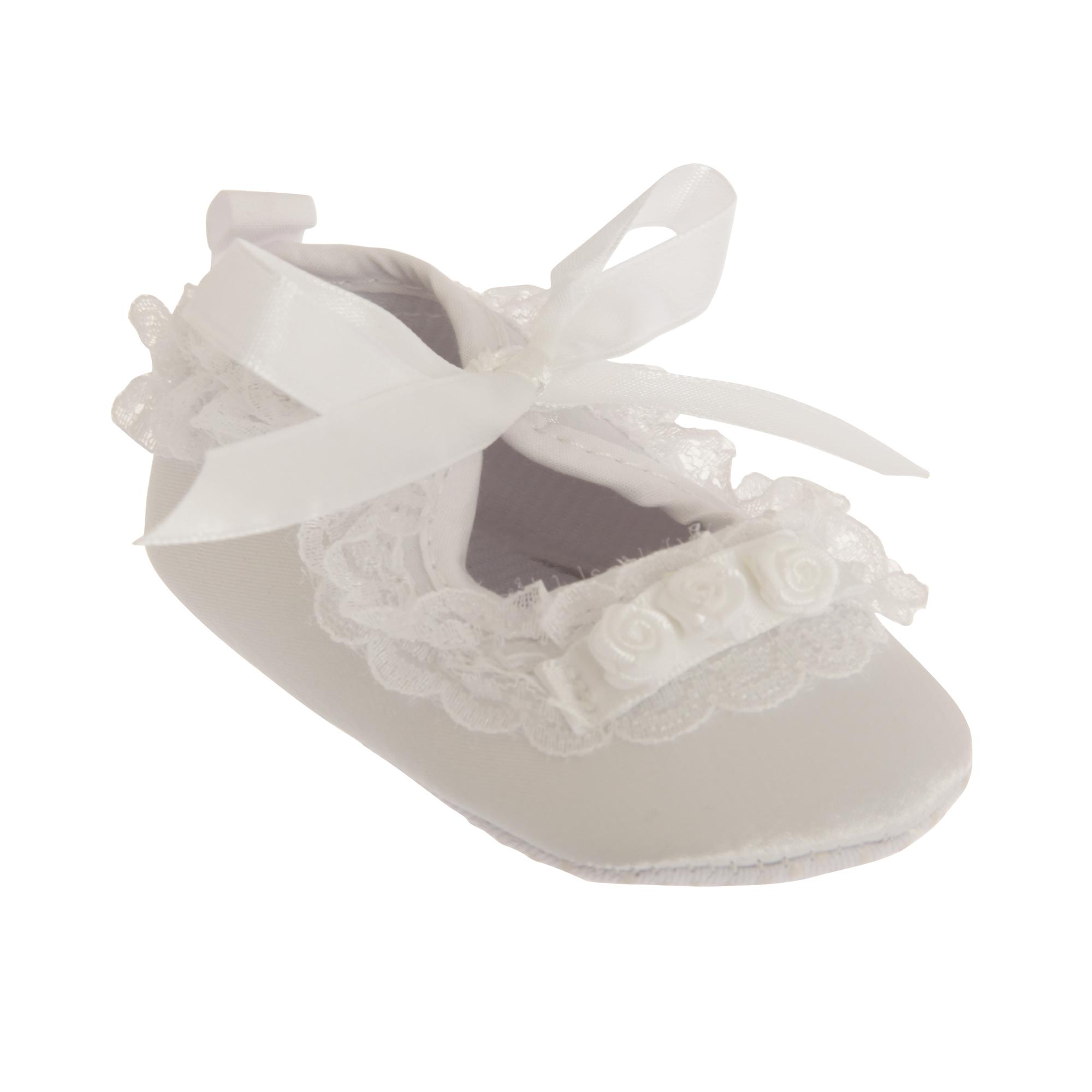 Nursery Time Volante Bautizo Zapatos de Bebé Niñas Clásico