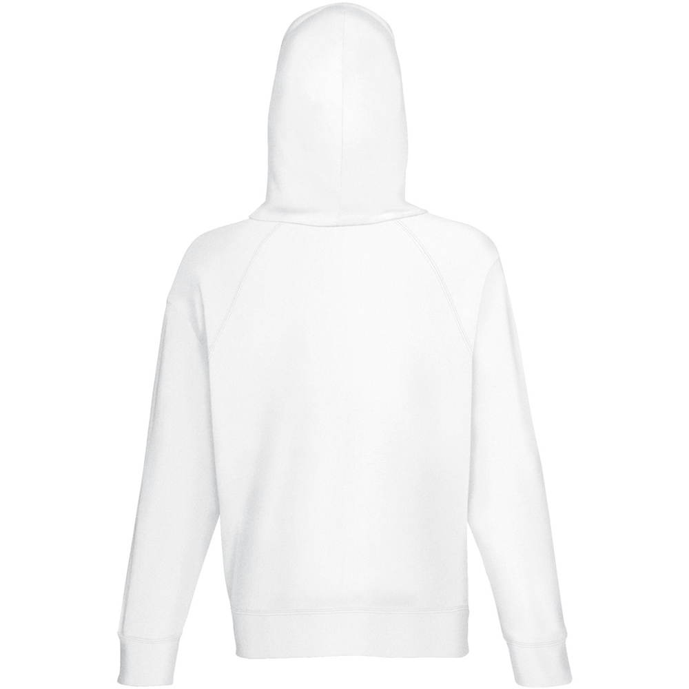 Fruit of The Loom Mens Lightweight Hooded Sweatshirt / Hoodie 240 GSM White  2xl. About this product. Picture 1 of 2; Picture 2 of 2