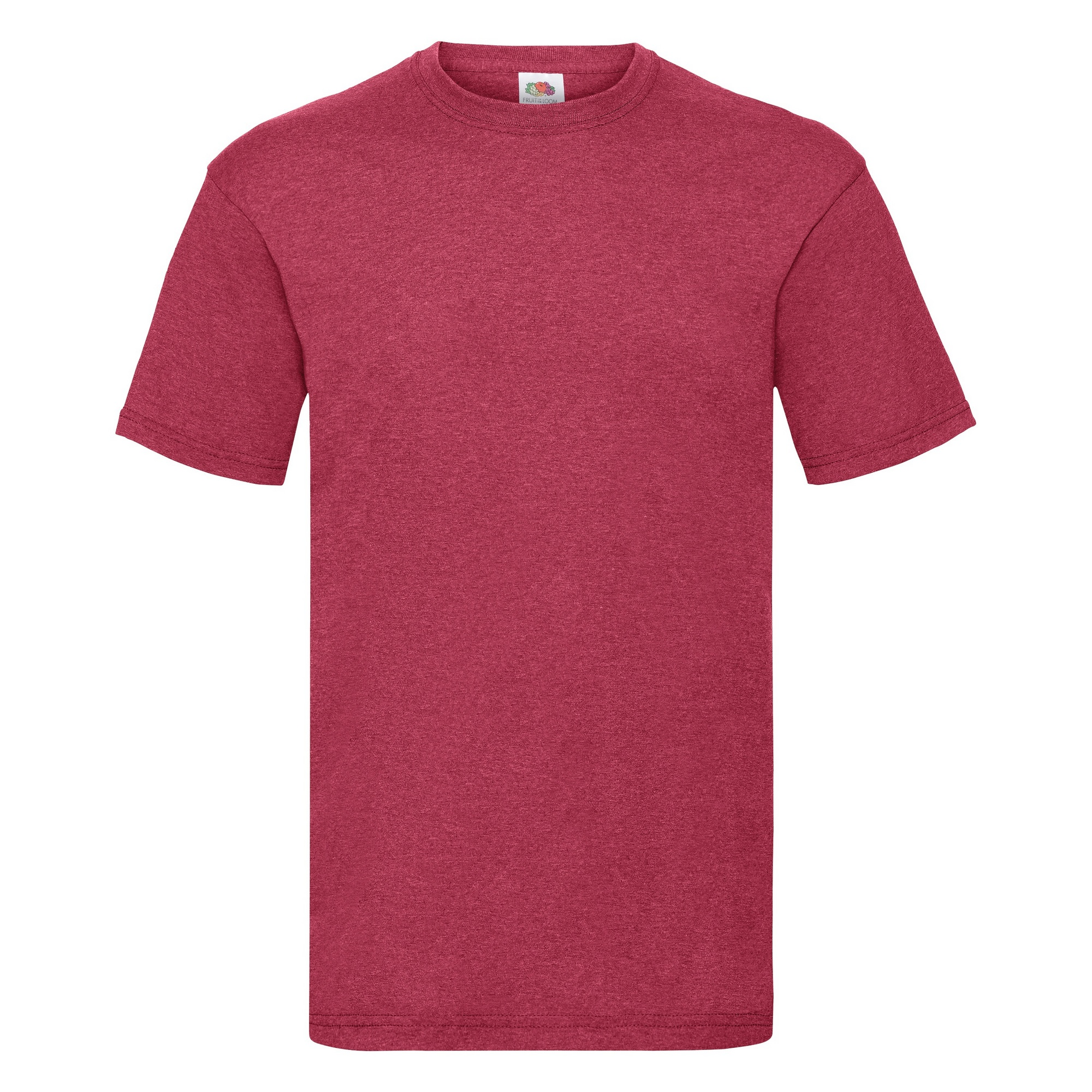 fruit of the loom mens valueweight short sleeve t shirt bc330 ebay. Black Bedroom Furniture Sets. Home Design Ideas