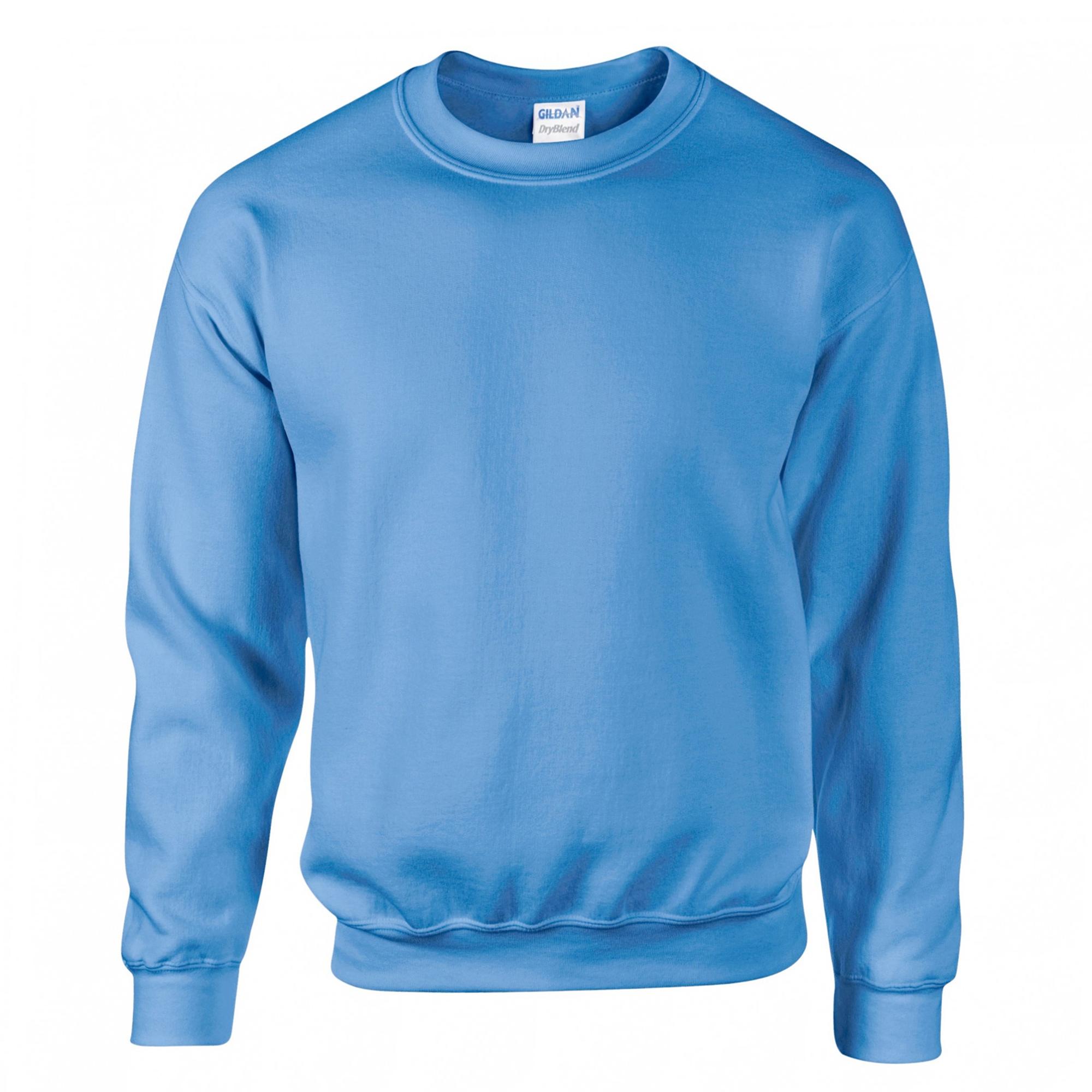 Gildan-Sudadera-cuello-redondo-mangas-Set-in-Modelo-DryBlend-Adultos-13-color