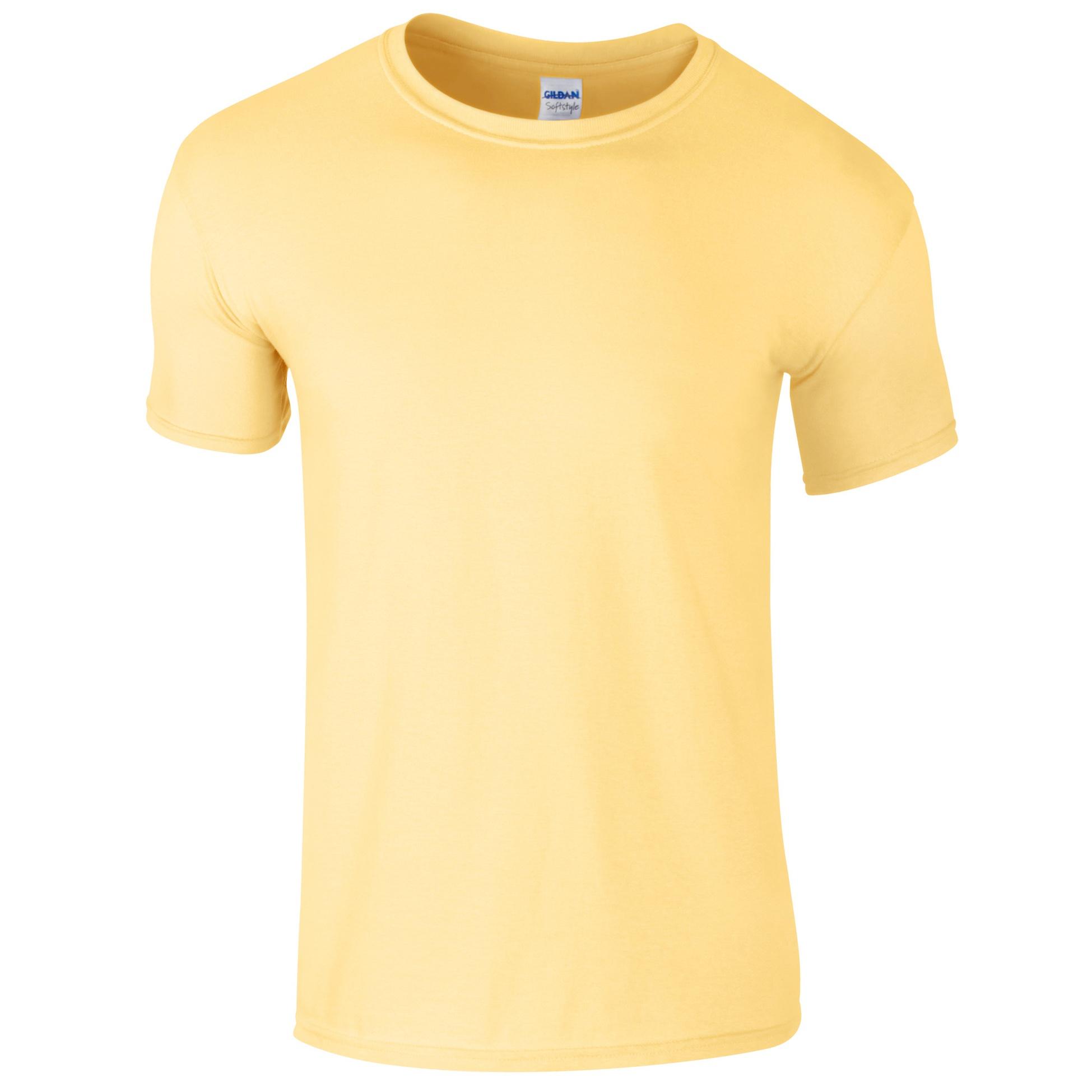 Gildan mens short sleeve soft style t shirt bc484 ebay for Gildan t shirt styles
