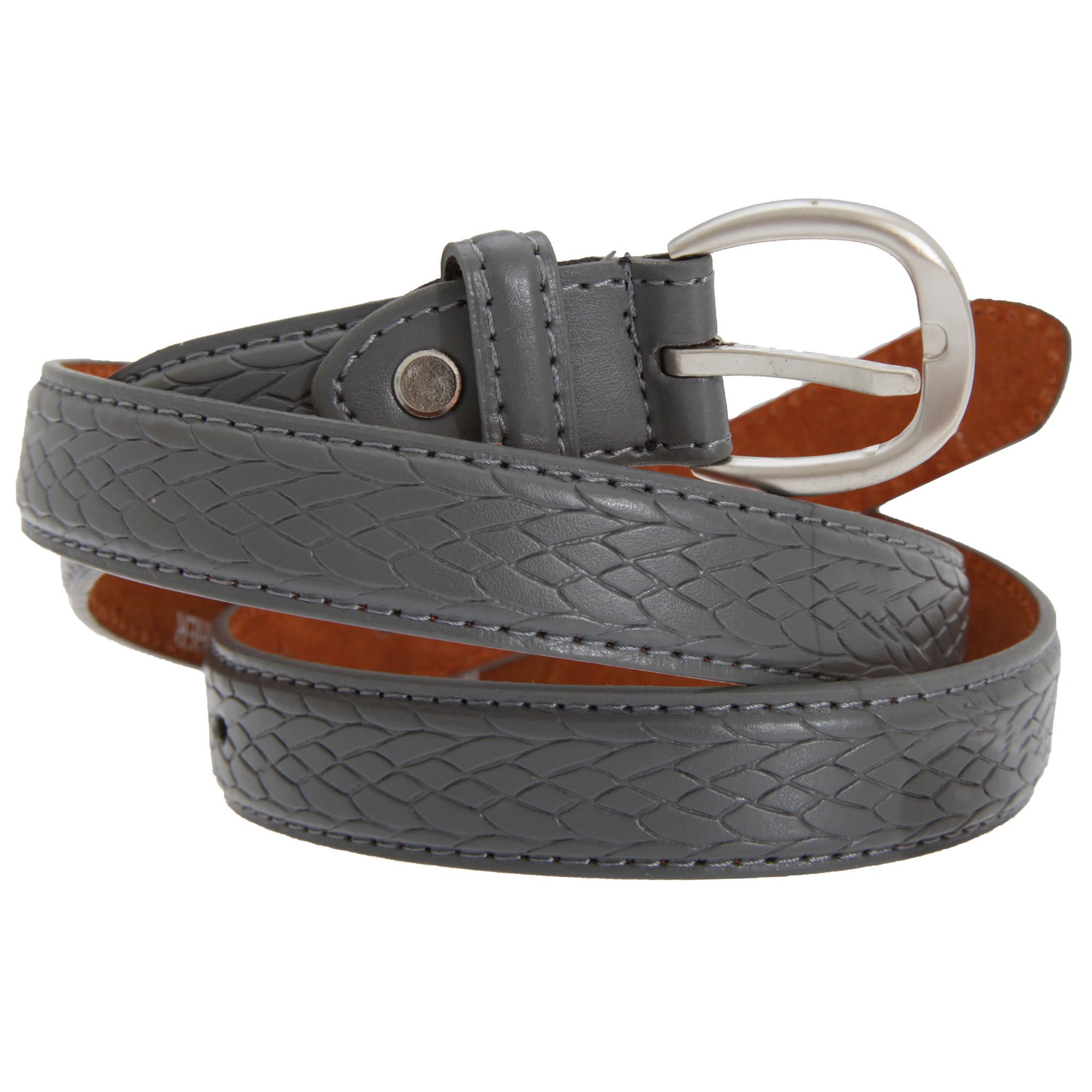 forest belts mens 1 00 inch plait pattern leather belt ebay