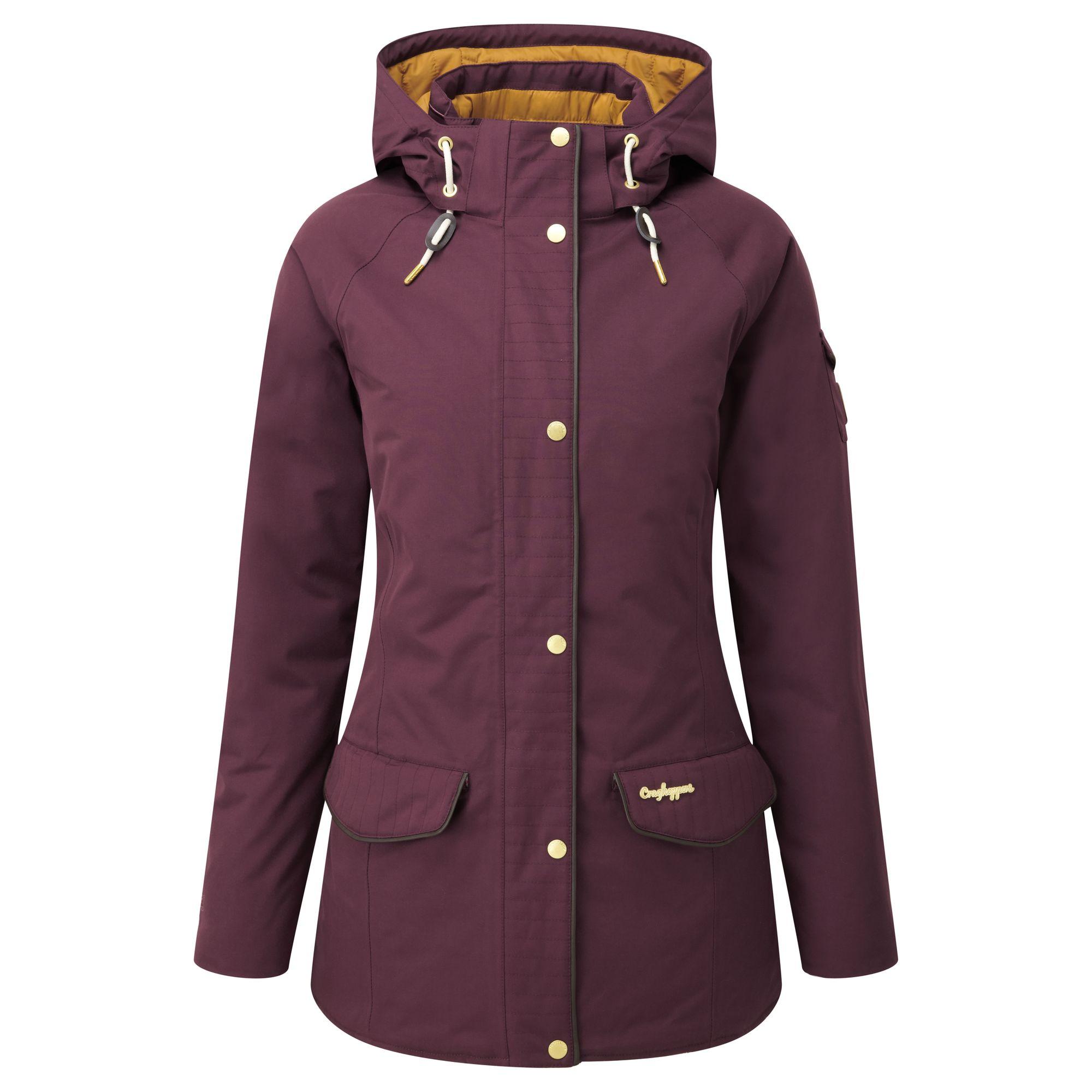 Craghoppers Womens/Ladies 250 Hooded Waterproof Winter Jacket   eBay