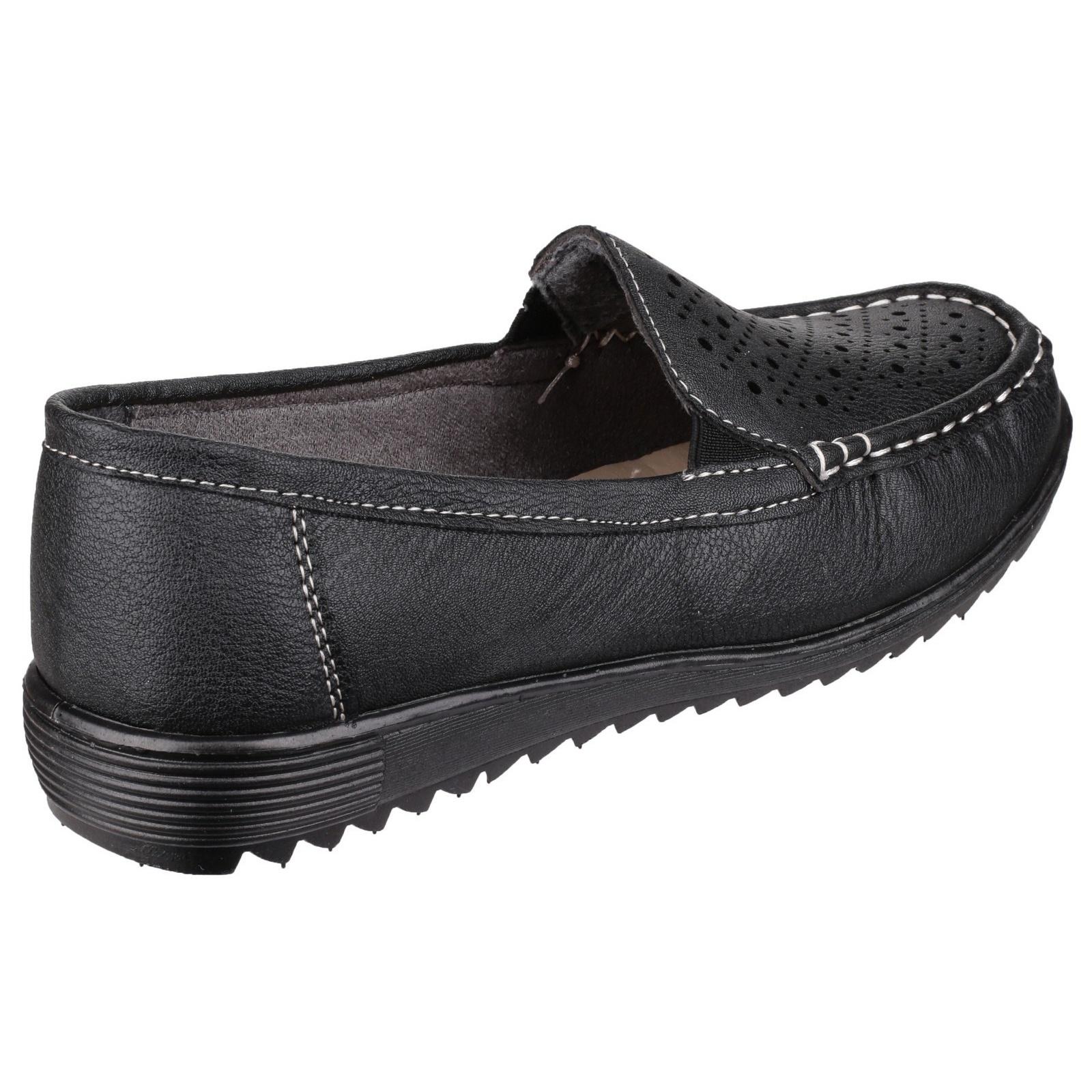 Amblers Cherwell Mujer/Dama Ligero Verano Zapatos Mocasín