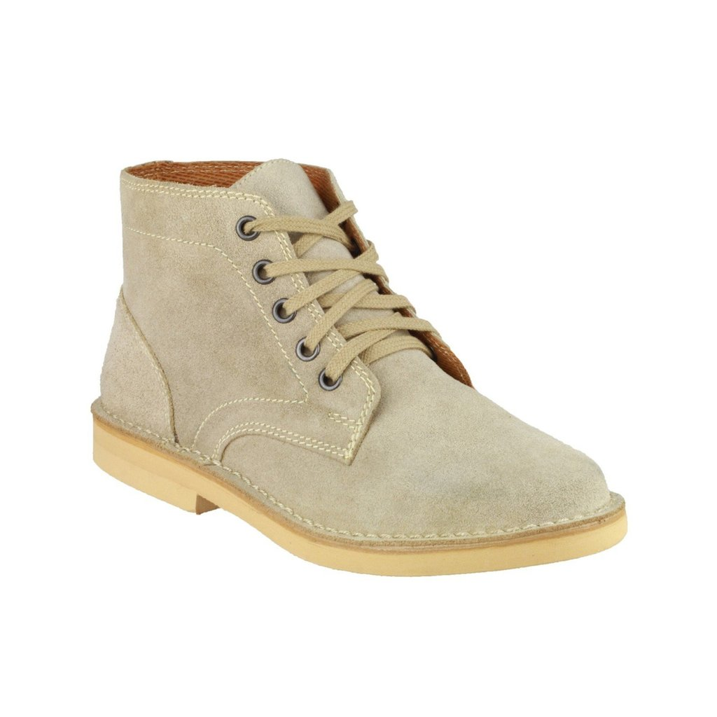 amblers herren desert boot stiefel halbhoch taupe ebay. Black Bedroom Furniture Sets. Home Design Ideas