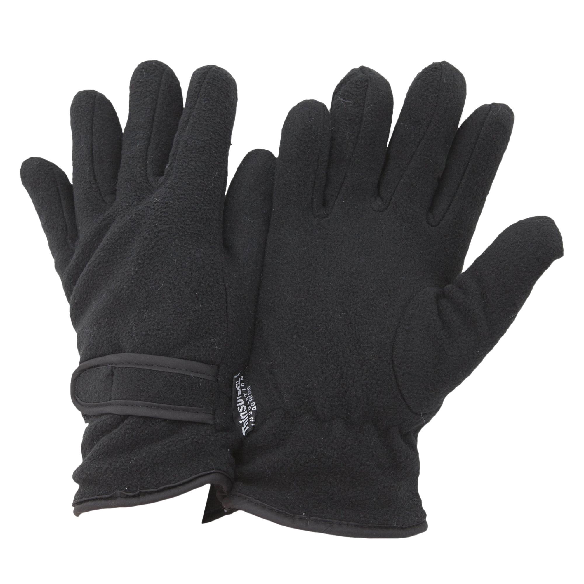 FLOSO Ladies /Womens Thinsulate Fleece Thermal Winter Warm ...