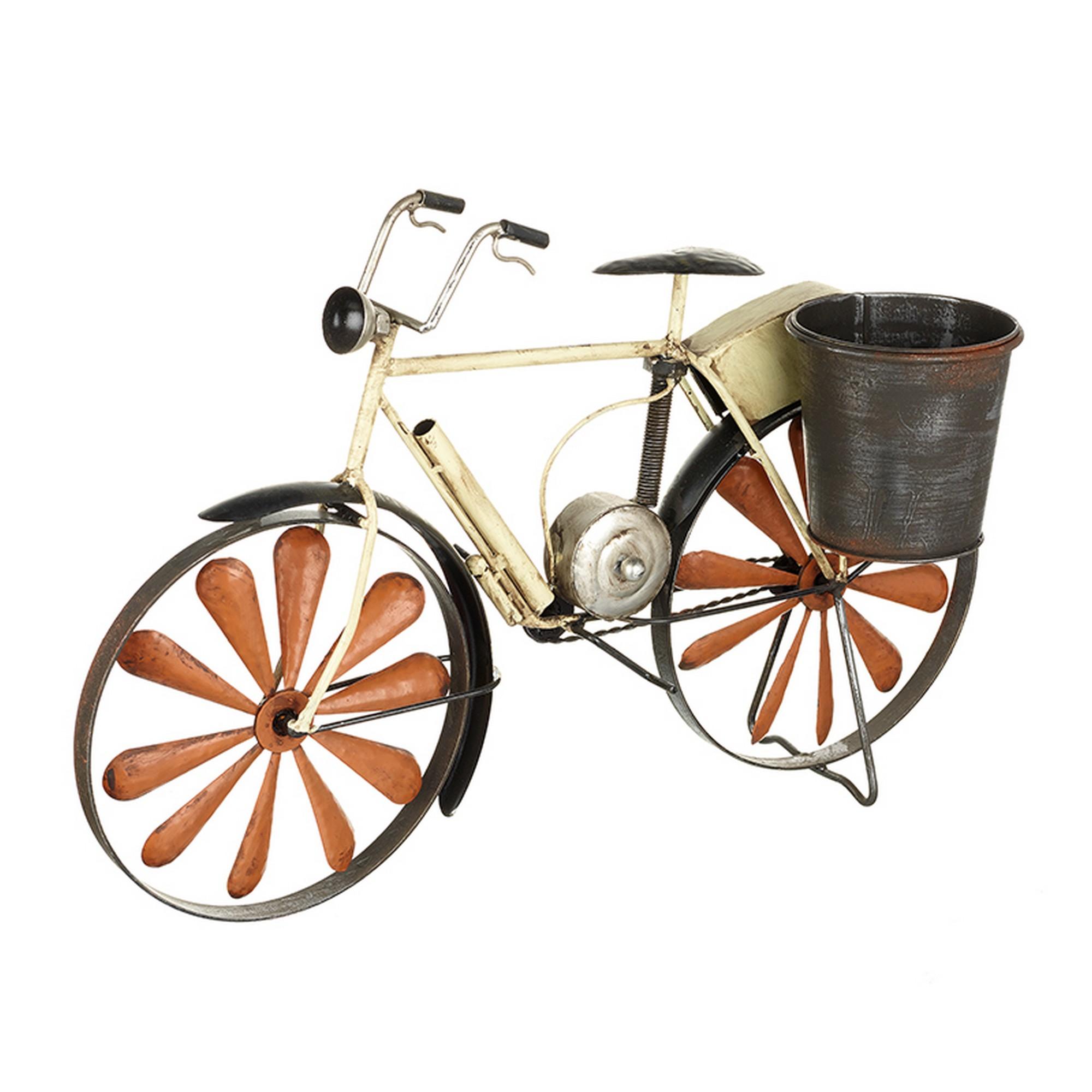 Heaven sends macetero con soporte en forma de bicicleta ebay - Bicicleta macetero ...