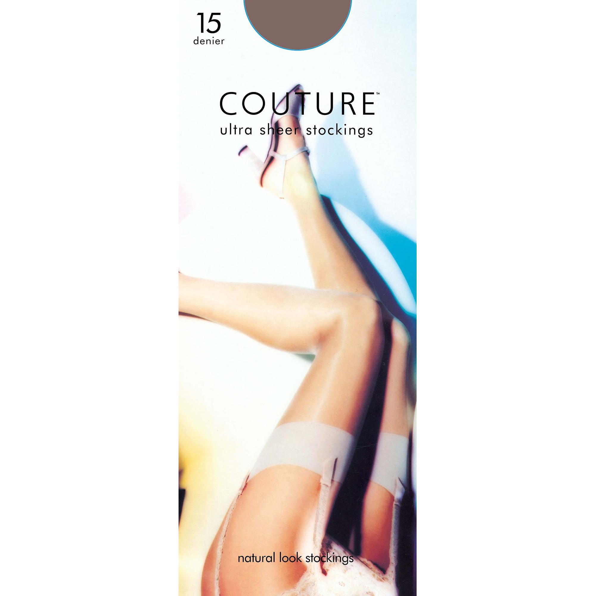 Couture Mujer/Dama Nylon 15 Denier Medias (1 par)