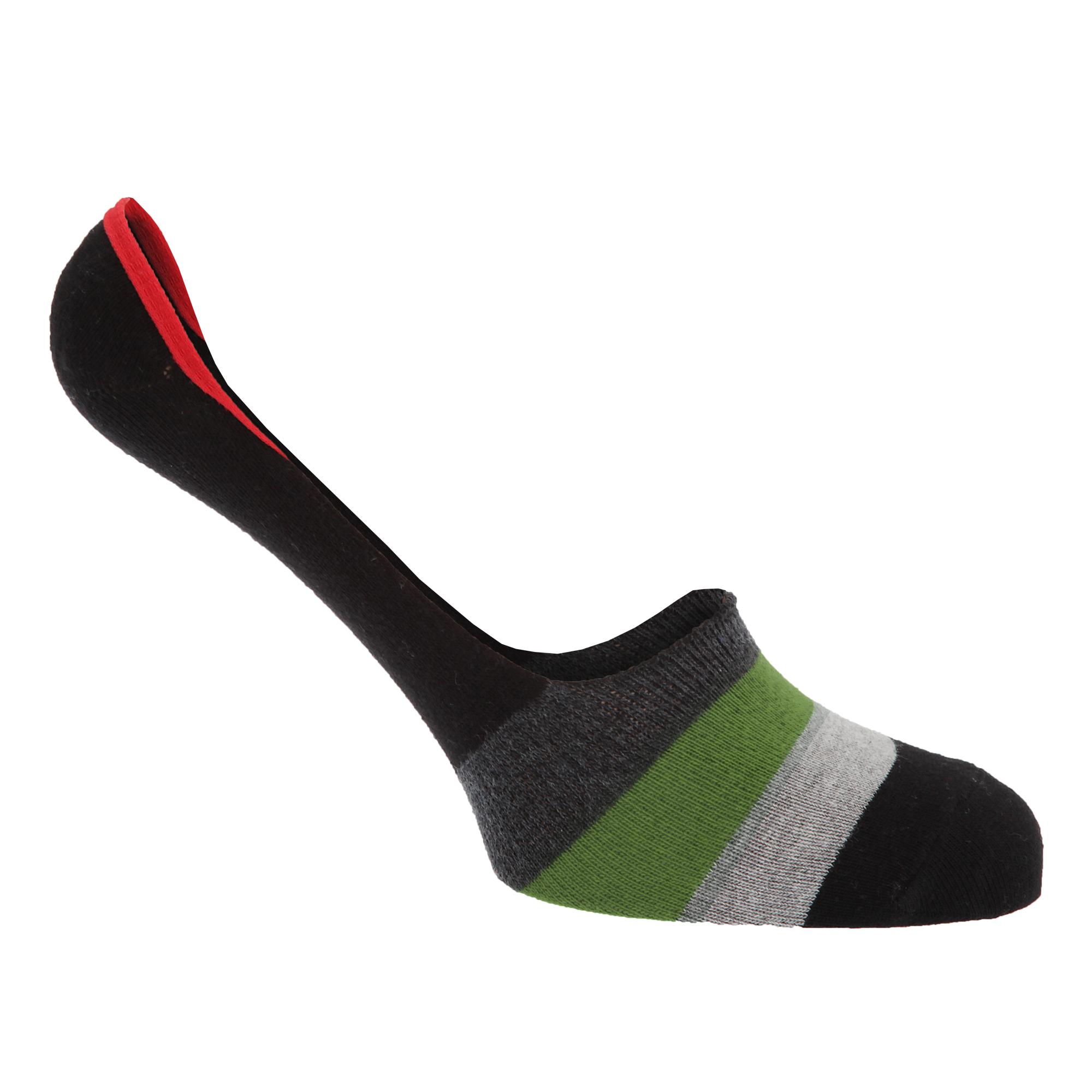 Diseño a rayas de algodón para hombre rico entrenador/Zapato Calcetines deportivos del trazador de líneas