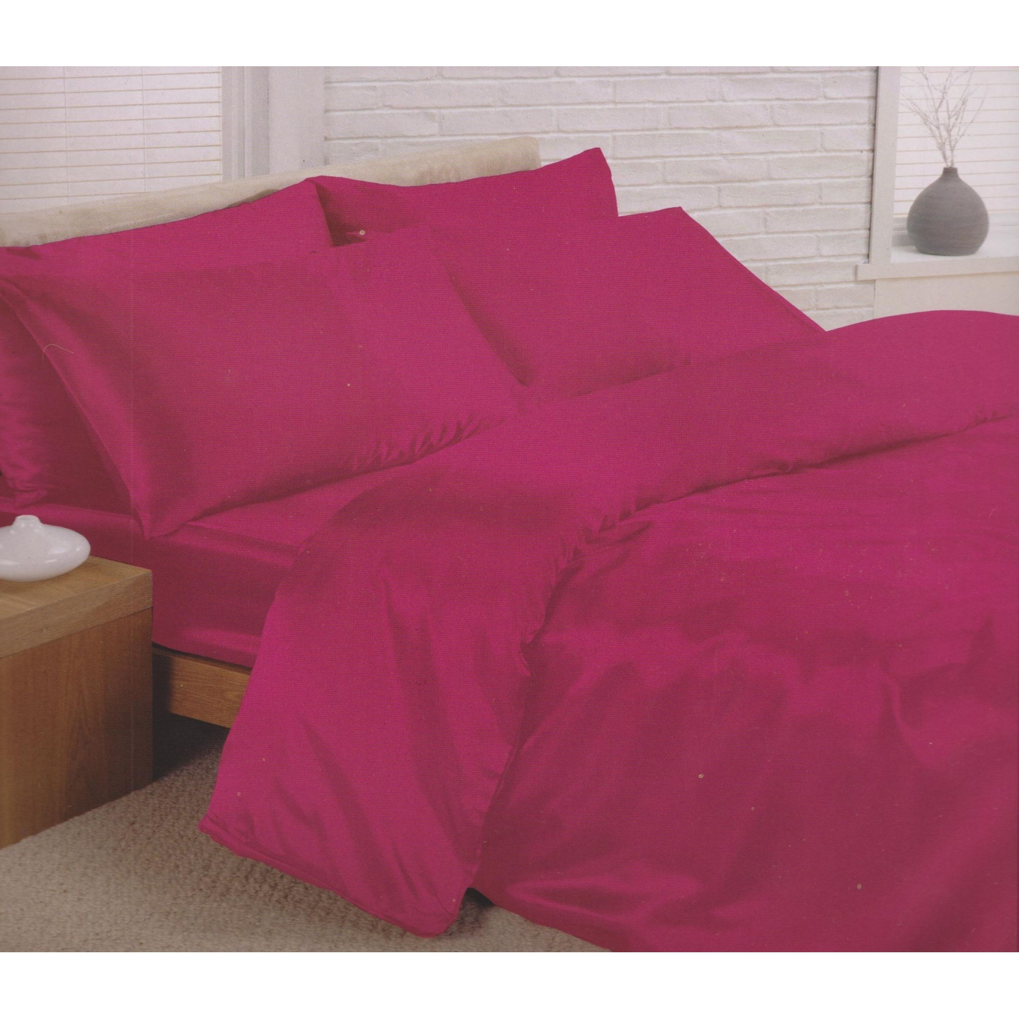 Charisma Satin Bedding Set Duvet Cover Fitted Sheet