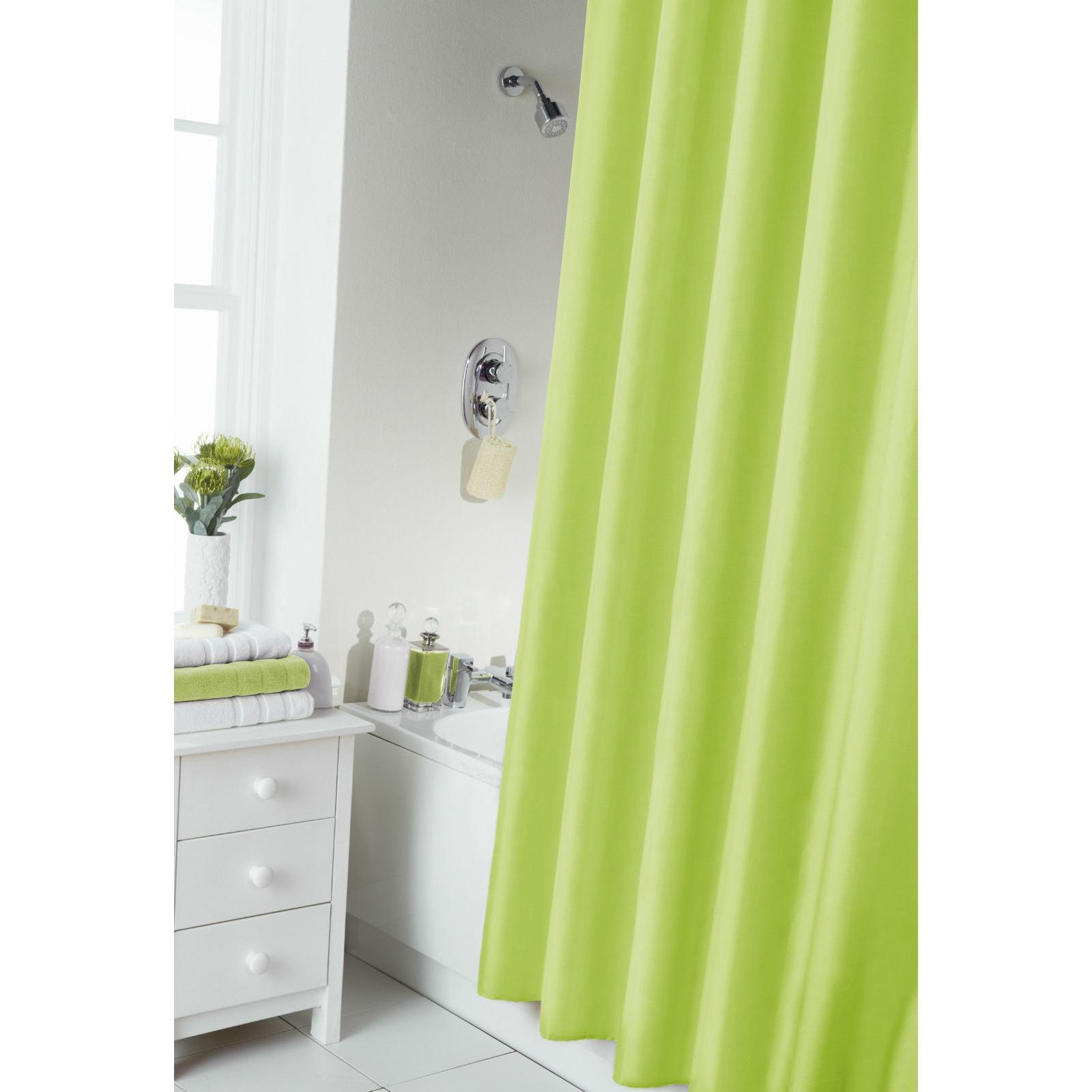 Cortinas de ba o lisas con anillas ms172 ebay - Anillas de cortinas ...