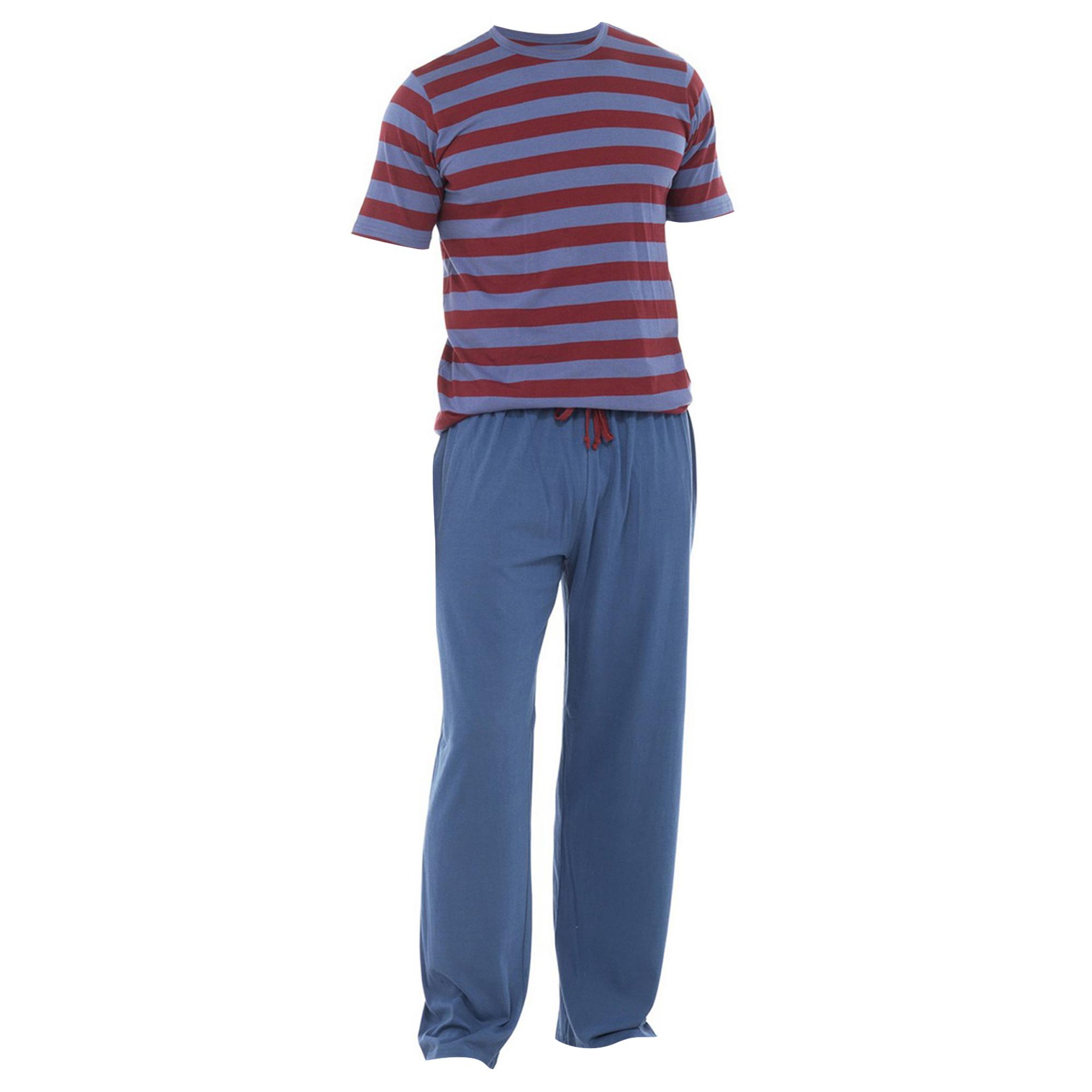 pantalon et t shirt de pyjama homme s xl 3 couleurs ebay. Black Bedroom Furniture Sets. Home Design Ideas
