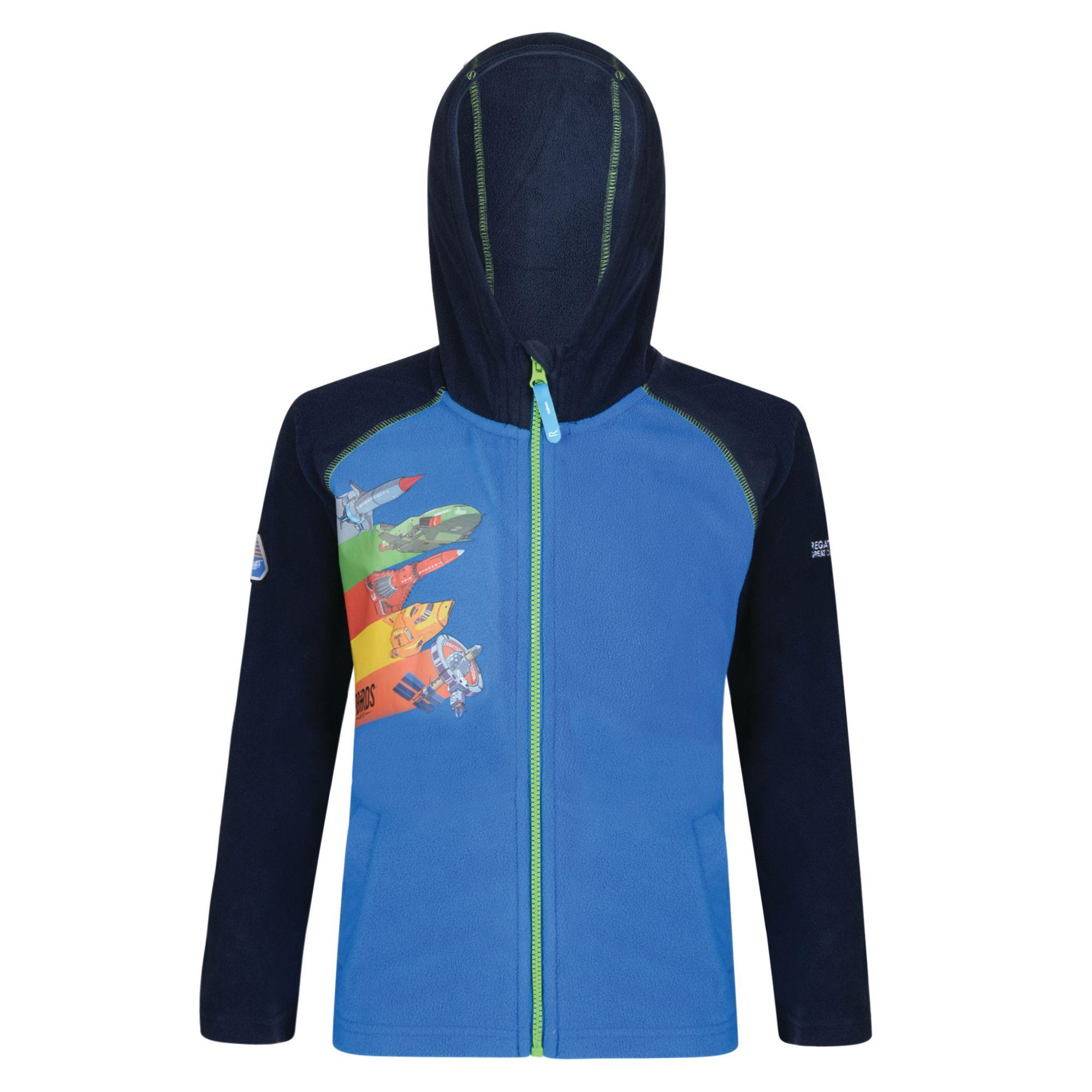 Regatta-Thunderbirds-Childrens-Kids-Official-Hyperspeed-Hooded-Fleece-Jacket