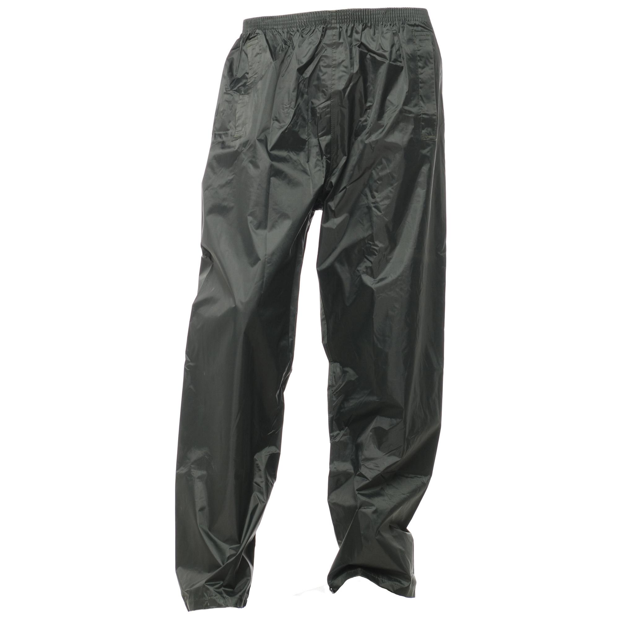 Regatta-Mens-Stormbreak-Waterproof-Windproof-Over-Trousers-Pants-Rain-Wear
