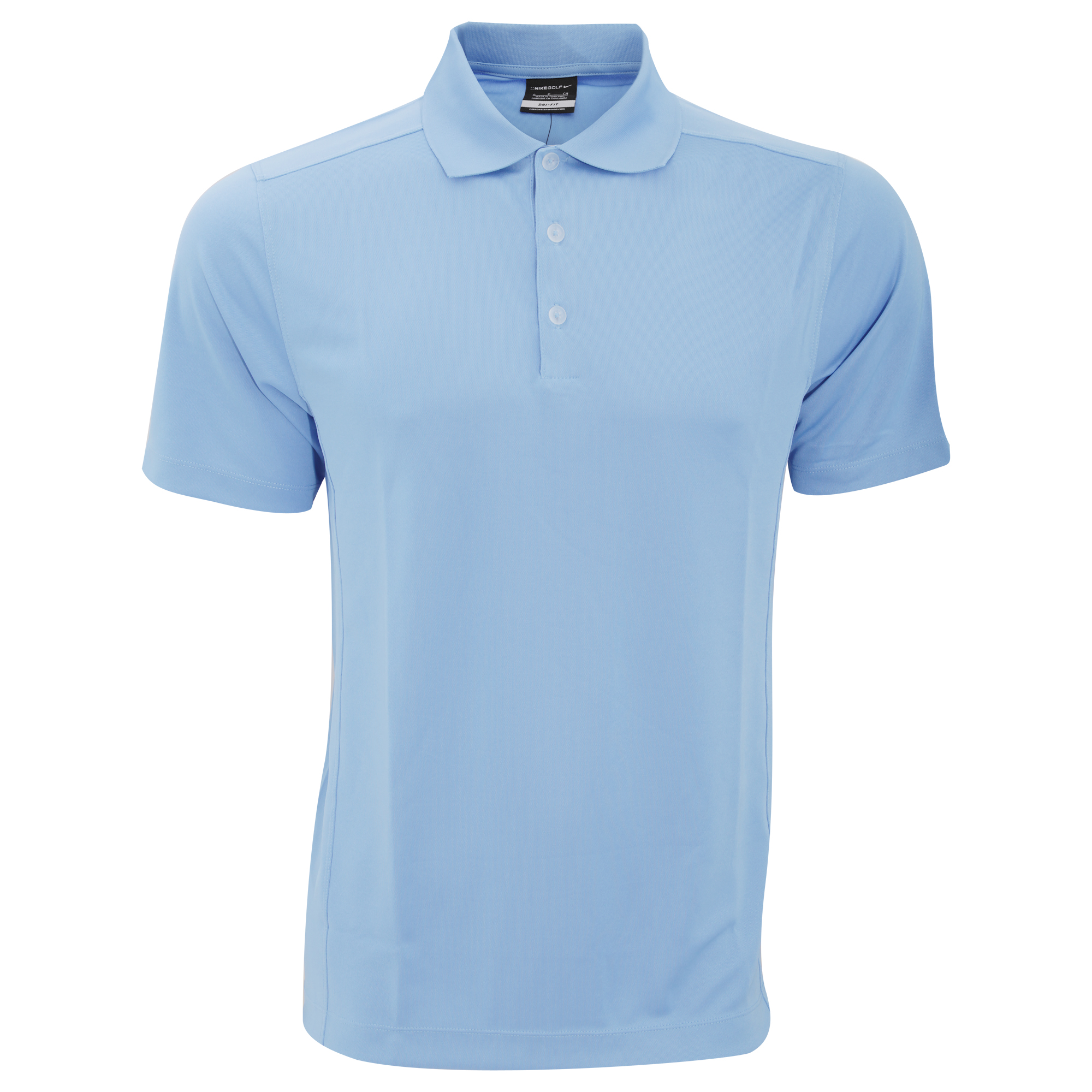 Nike Mens Dry-Fit Sports Plain Short Sleeve Polo Shirt /T ...
