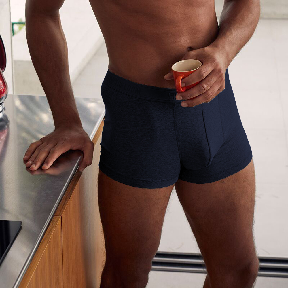 Fruit-Of-The-Loom-Mens-Classic-Shorty-Cotton-Rich-Boxer-Shorts-Pack-Of-2-UTRW3