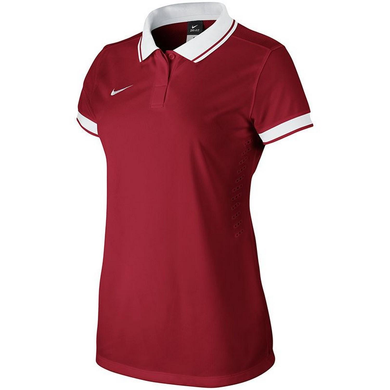 Nike Womens/Ladies Teamwear Laser Short Sleeve Polo Shirt ...