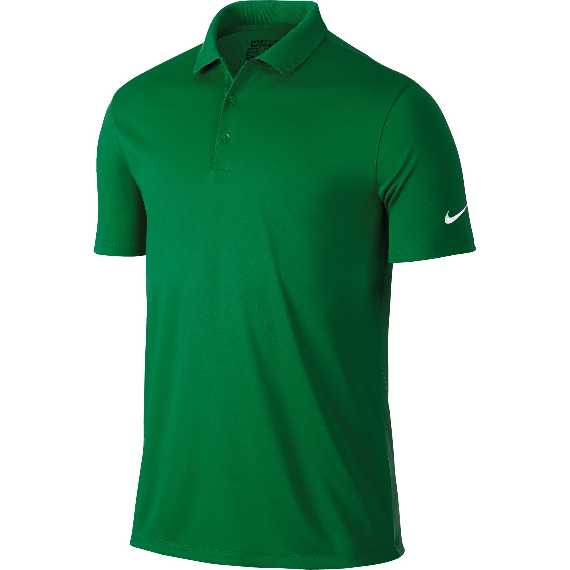 Nike Mens Victory Short Sleeve Solid Polo Shirt | eBay