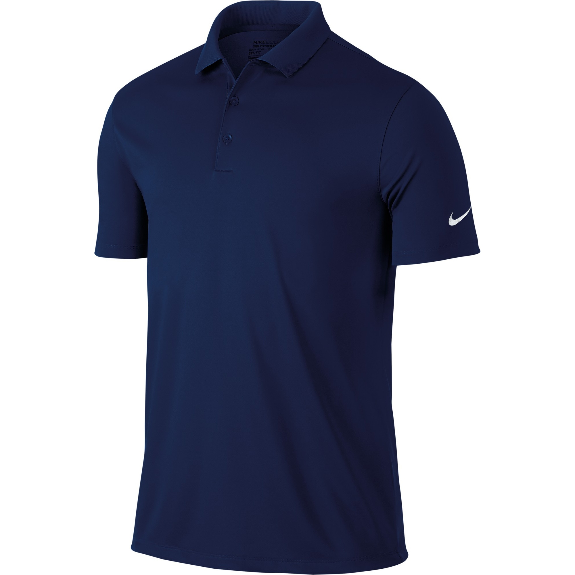 Nike Mens Victory Short Sleeve Solid Polo Shirt | eBay