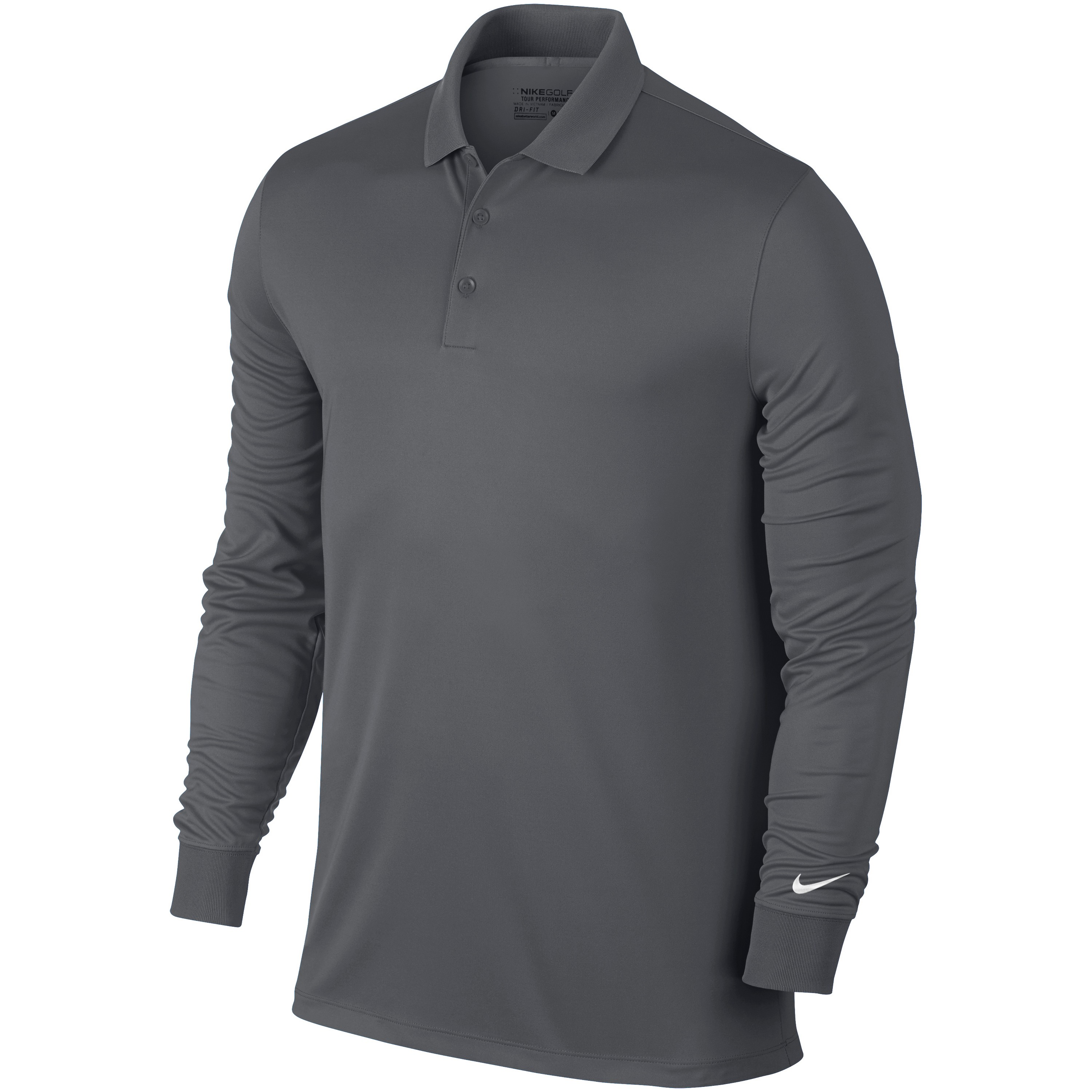 Nike Mens Victory Long Sleeve Polo Shirt | eBay