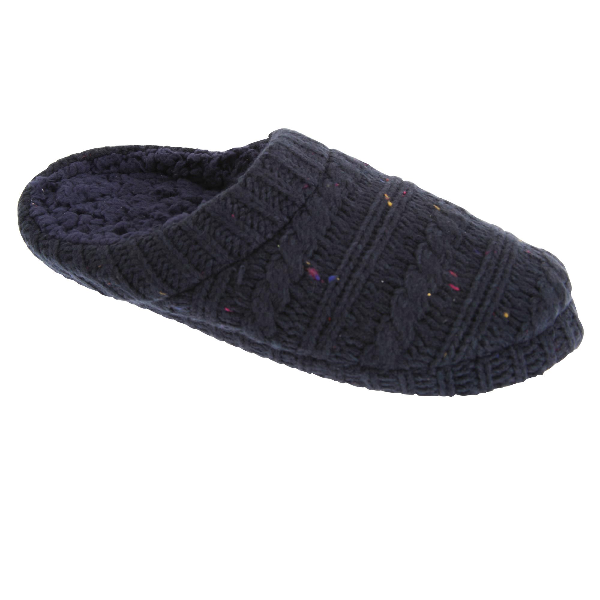 Zapatos de hombre de punto moteado Zapatilla slumberzzz
