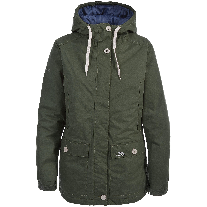 Womens warm waterproof jacket